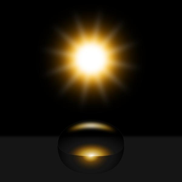 realistic lighting inkscape