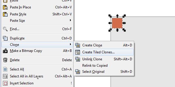 create tiled clones