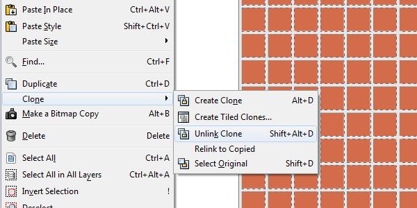 unlink clone