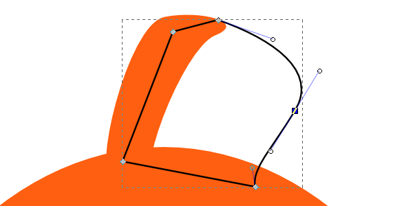 rounded extended fin