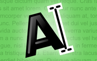 inkscape text tool