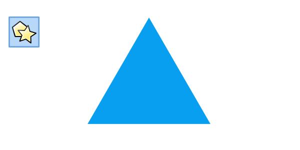 polygon tool triangle