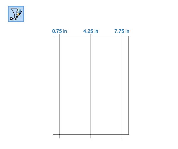 3 vertical lines