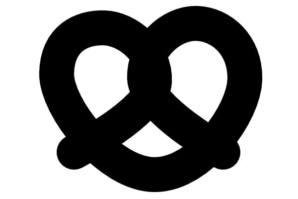 black pretzel