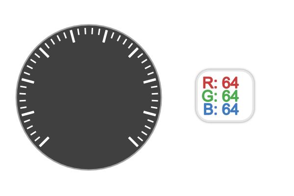 gray circle white lines