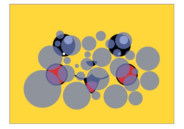 circles pikachu