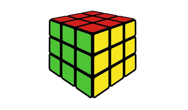 3d rubiks cube inkscape