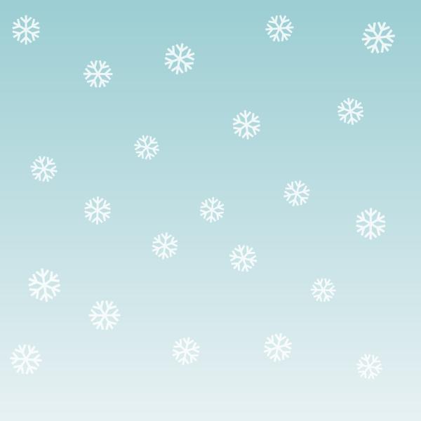 inkscape snowflake scene