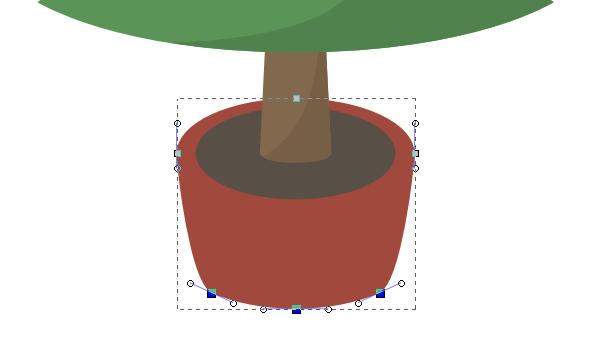 inkscape pot shape