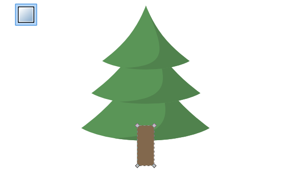 Christmas Decorations Drawings Easy.How To Draw A Christmas Tree In Inkscape Goinkscape