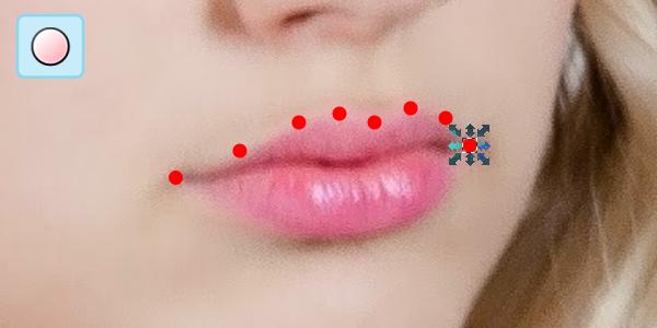draw circle dots