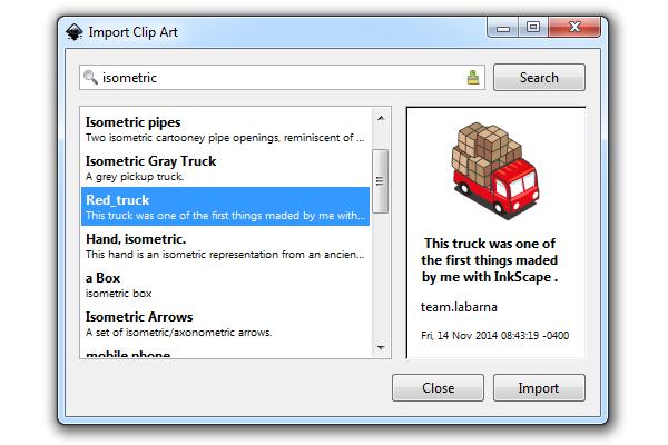 import clip art