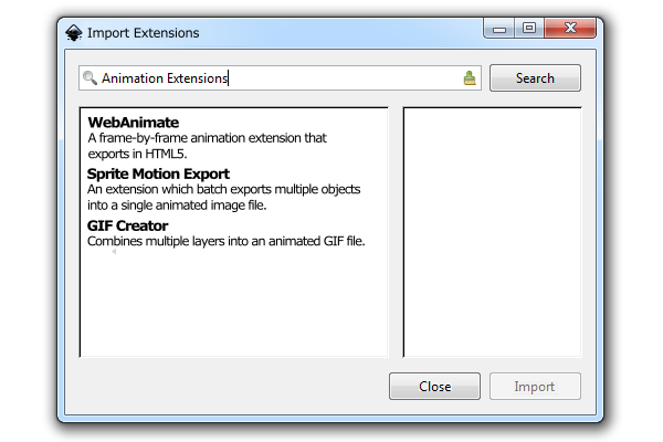 inkscape import extensions