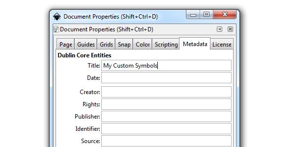 inkscape document title