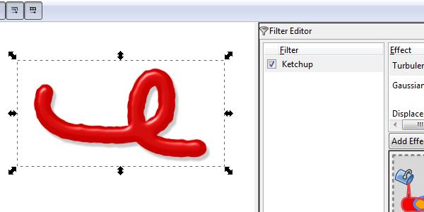 inkscape custom filter
