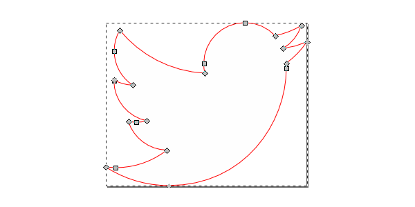 twitter logo in svg