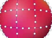 inkscape 0.91 gradient mesh
